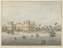 Military Orphan School opposite to Calcutta for the Children of private soldiers